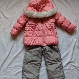 Carter's Winter Coat and Snow Pants size 3T